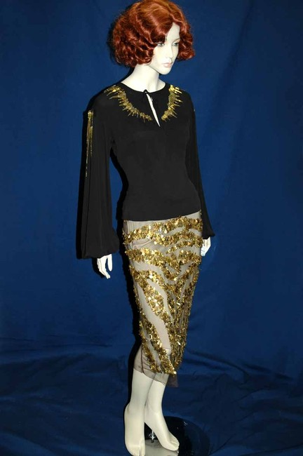 KAUFMANFRANCO Skirt Gold