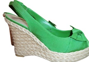 Moda Spana Lime green Wedges