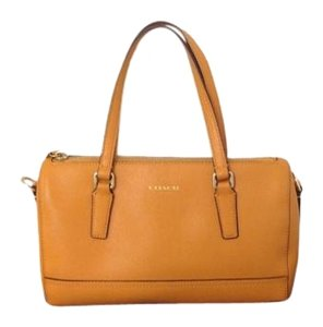 Coach Crossbody Satchel in Yellow