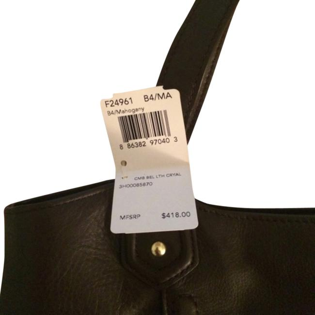 Coach F24961 Rich Brown Leather Tote Coach F24961 Rich Brown Leather Tote Image 1