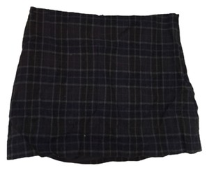 Theory Mini Skirt Black and green