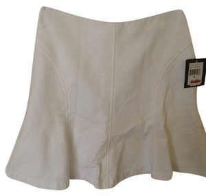 Nanette Lepore Mini Skirt White