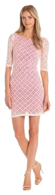 Preload https://img-static.tradesy.com/item/5536051/maggy-london-pink-and-white-lace-short-workoffice-dress-size-6-s-0-0-650-650.jpg
