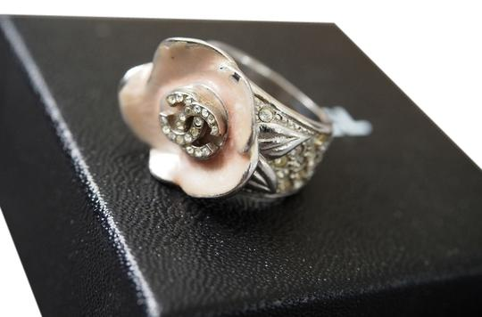 Chanel Chanel Pink Camellia Flower Ring