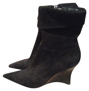 Bandolino Wedge 8m Black Boots