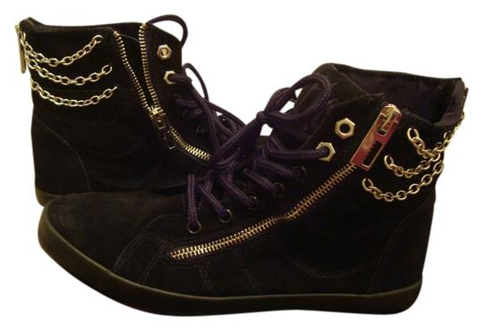 Cute to the Core Chain Sneakers Gym Black Athletic