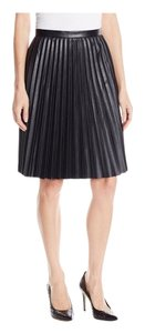 Calvin Klein Skirt Black faux leather