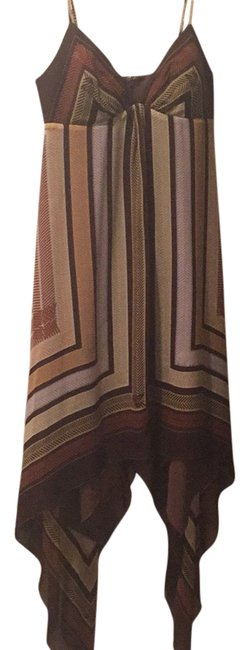 Max and Cleo short dress Brown on Tradesy