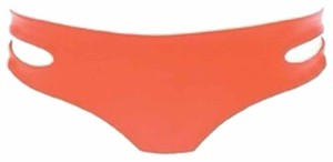L*Space LSpace Orange Bikini Bottoms Medium