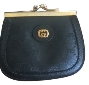 Gucci Rare Vintage Gucci Coin Wallet GG Gold Hardware GG Coated Canvas