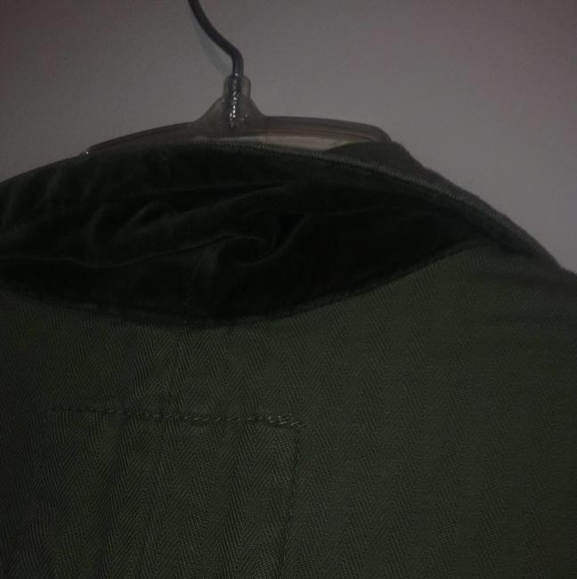 American Eagle Outfitters Olive Blazer