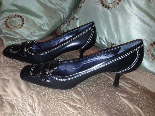 Cole Haan Size 8 Aa Black Pumps