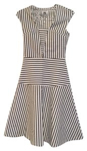 Vicky and Lucas short dress Black and white strip on Tradesy