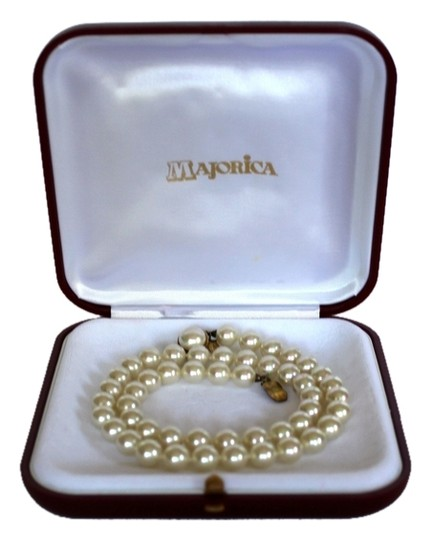 Majorica Genuine Majorica Pearl Necklace 18