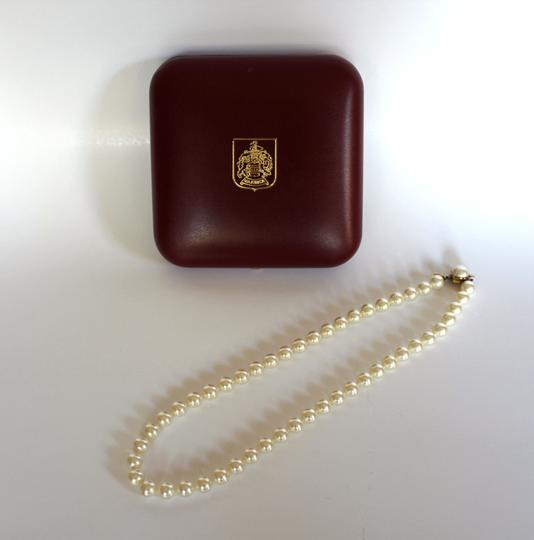 "Mallorca Pearl Necklace: Majorica Genuine Pearl Necklace 18"" (10mm)"
