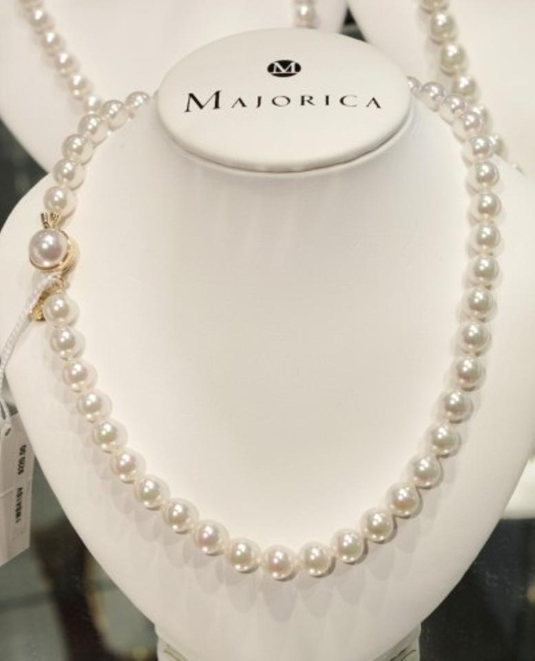 Majorica Genuine Pearl Necklace 18 Quot 10mm 38 Off Retail