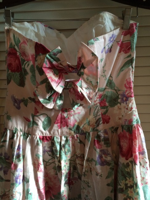 off white and flowers Maxi Dress by Other