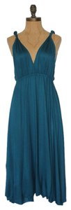 Anthropologie short dress BLUE Vintage Hazel Teal on Tradesy