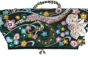 beaded colorful Clutch