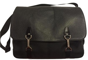 Louis Vuitton Laptop Office Black Messenger Bag