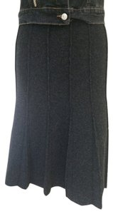 Cesare Fabbri Skirt dark grey