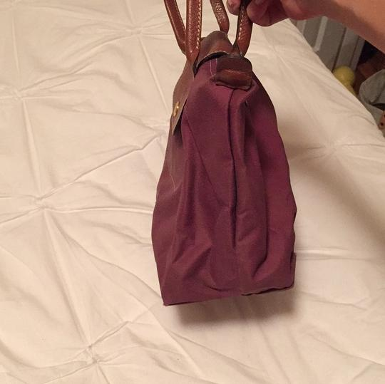 Longchamp Satchel in Purple