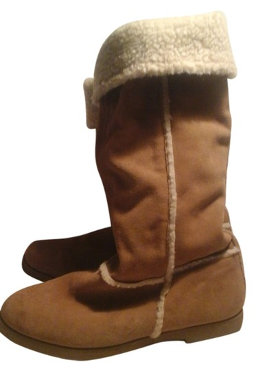 Preload https://item3.tradesy.com/images/xhilaration-taupe-boots-5538757-0-0.jpg?width=440&height=440