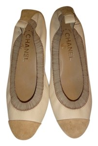 Chanel Spirit Escarpins Beige Pumps
