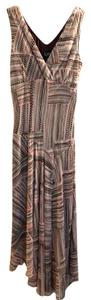 Pattern: brown green beige pink Maxi Dress by K Studio
