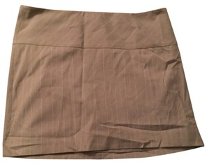 Express Sexy Mini Mini Skirt Tan