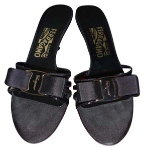 Salvatore Ferragamo Slide black Sandals