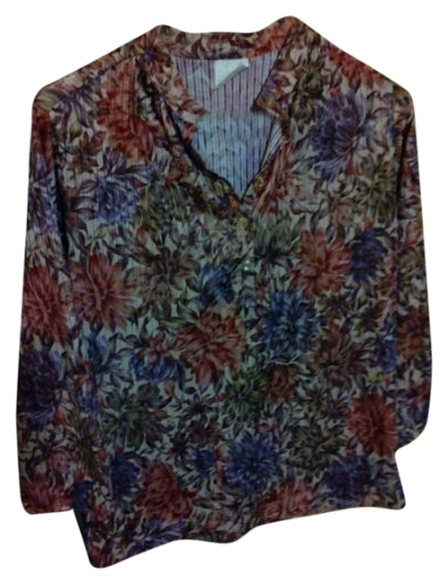 Other Top Brown flowerly, and a Purple look instead of a blue like shows up in colors-More Fall.