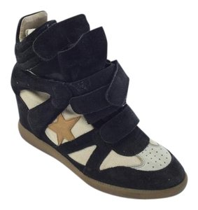 Isabel Marant Sneakers Navy Blue Athletic