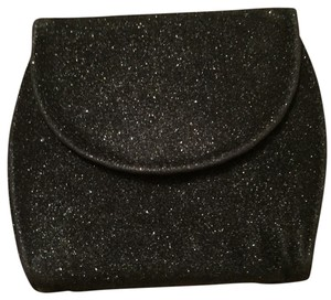Bakers Sparkles Glitter Black Clutch