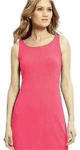 Eileen Fisher short dress Pink Solid Color on Tradesy