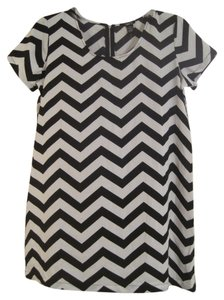 Rue 21 short dress BLACK AND WHITE on Tradesy