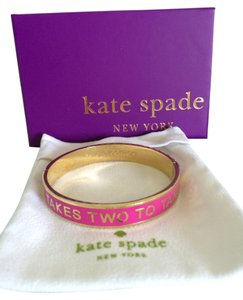 Kate Spade It takes Two Idiom Bangle