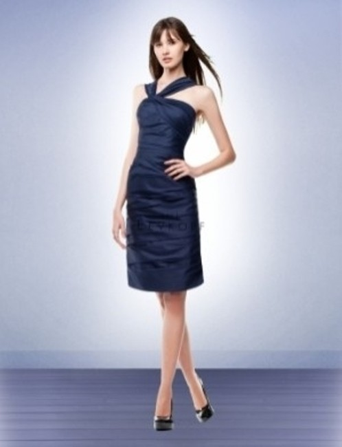 Item - Blue Cotton 141 Traditional Bridesmaid/Mob Dress Size 10 (M)