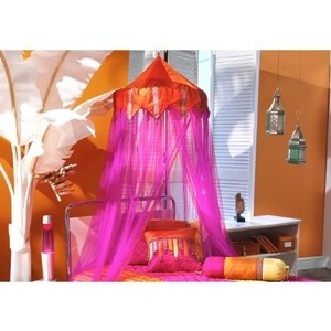Tangerine Orange and Fuchsia Price Is For One (Three Available In Stock) Individual Canopy/Chuppah