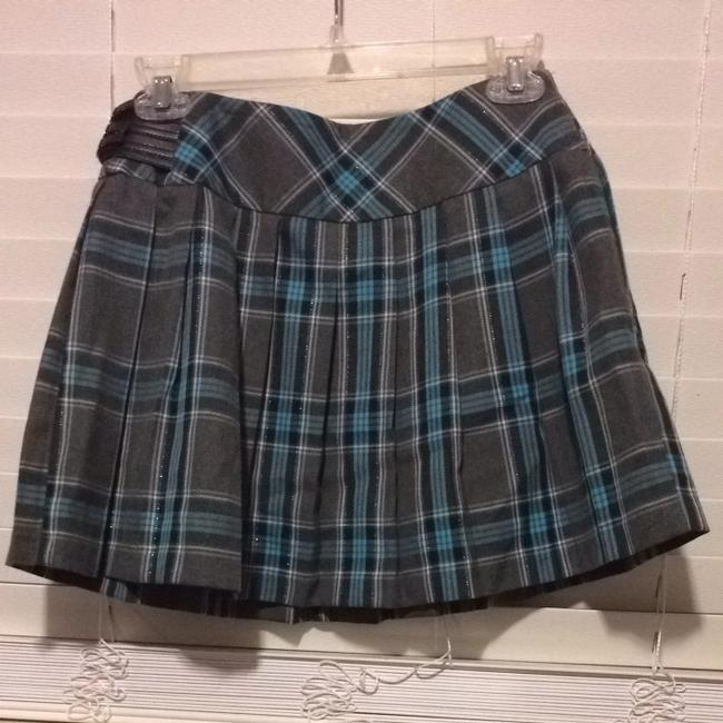 Item - Gray/Blue Skirt Size 4 (S, 27)