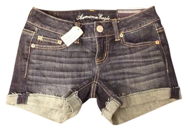 Preload https://item2.tradesy.com/images/american-eagle-outfitters-dark-wash-denim-midi-cut-off-shorts-size-0-xs-25-554181-0-0.jpg?width=400&height=650