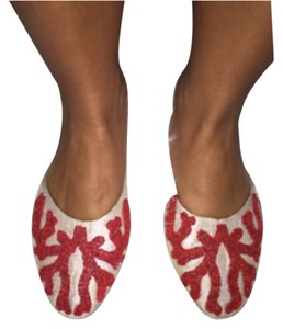 Morocco custom shoes Flats