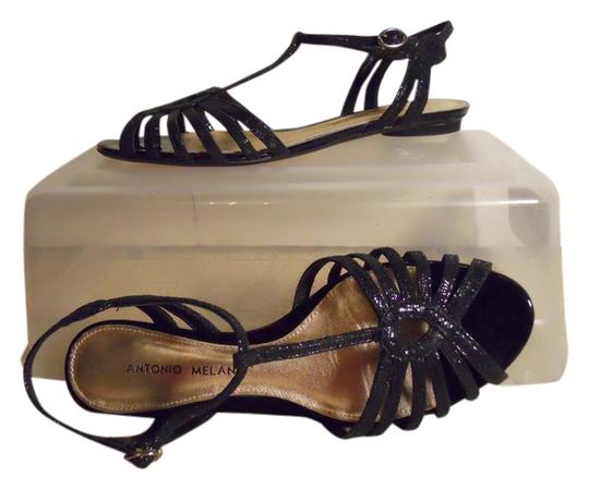 Antonio Melani Leather black Sandals