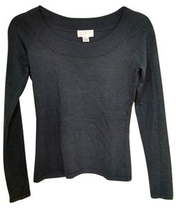 Ann Taylor LOFT Scoop Back Silk Sweater