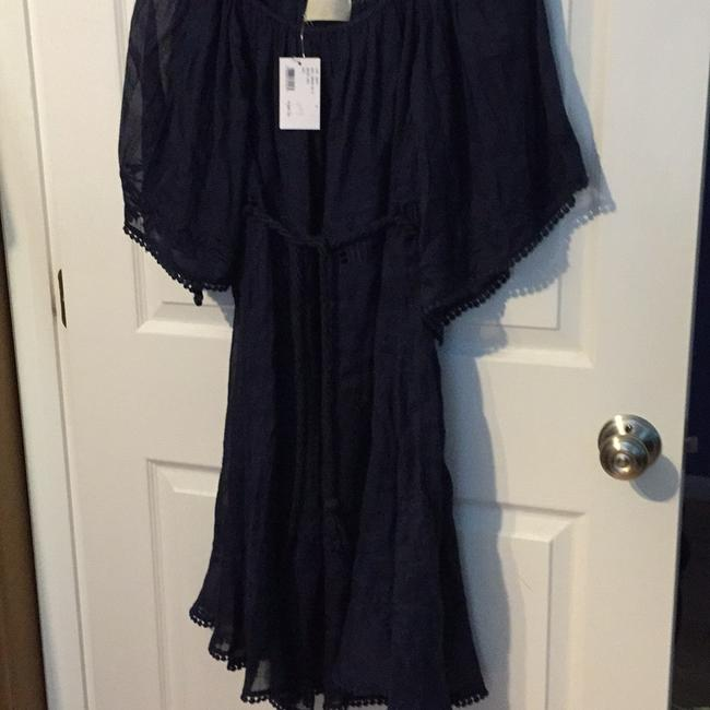 INTERMIX short dress Navy on Tradesy