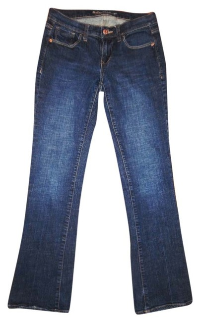Old Navy Stretch The Sweetheart Size 1 Boot Cut Jeans-Medium Wash