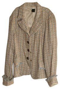 Other COCO/ Tweed/Blue/Ivory/Yellow Blazer