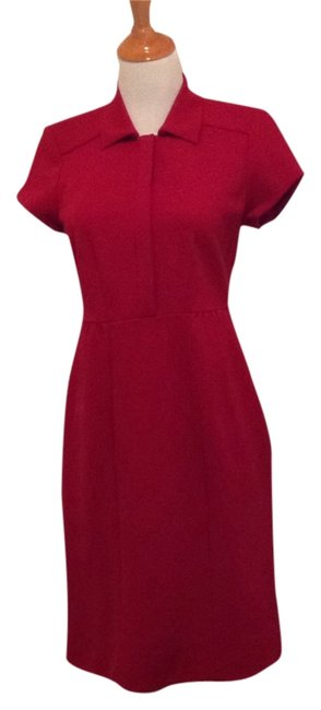 Diane von Furstenberg short dress Red on Tradesy