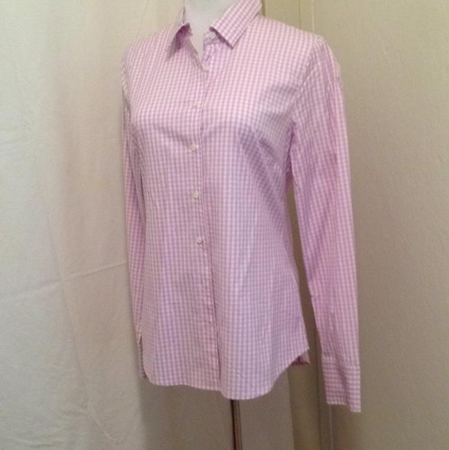 Preload https://item4.tradesy.com/images/jcrew-lilac-and-white-stretch-perfect-93260-blouse-size-6-s-5546068-0-0.jpg?width=400&height=650