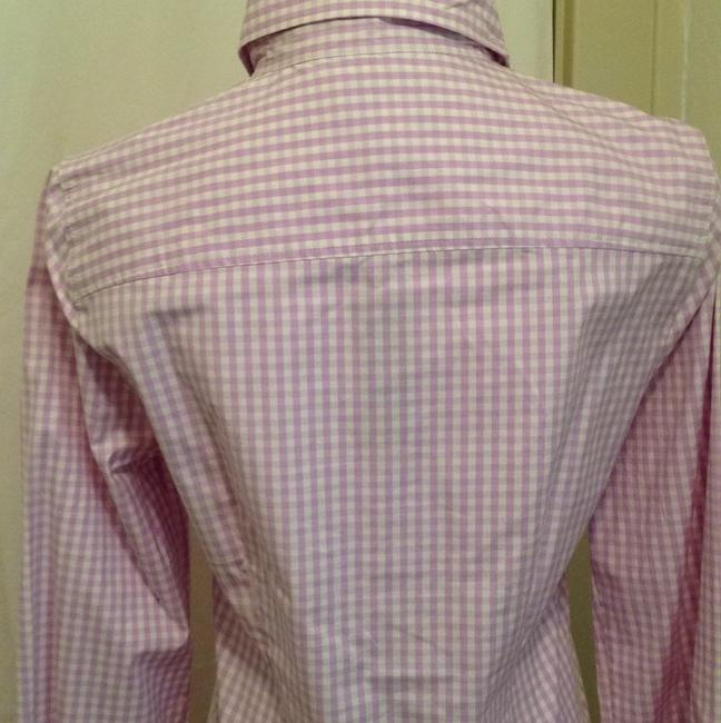 J.Crew Top Lilac and white